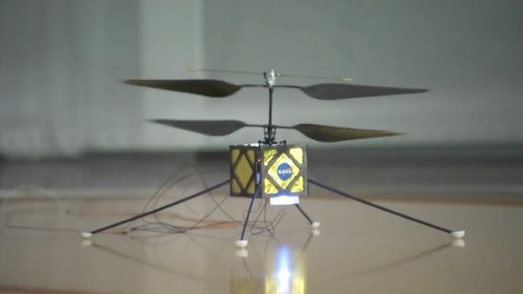 NASA Is Developing A Helicopter Drone For 2020 Mars Mission