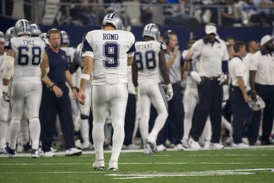 Tony Romo suffered collarbone fracture, will miss rest of season
