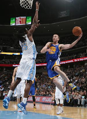 Crawford's 41 points leads Warriors over Nuggets