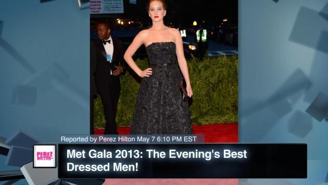Met Gala 2013: The Evening's Best Dressed Men!