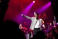 Jermaine Jackson of the musical group The Jacksons performs during the group&#39;s Unity Tour at the Apollo Theater in New York June 28, 2012.REUTERS/Andrew Burton/Files