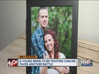Bride-to-be battling cancer faces fight with venue