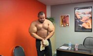 'Popeye' Bodybuilder Says It's All Natural