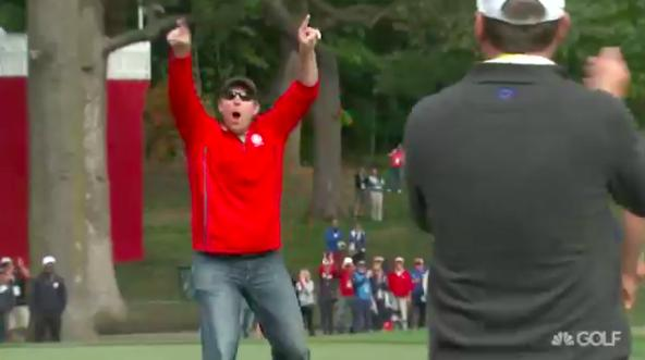 Heckler shows up Rory McIlroy at Ryder Cup