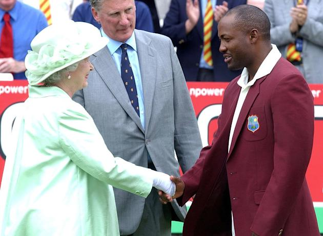Queen Meets Brian Lara