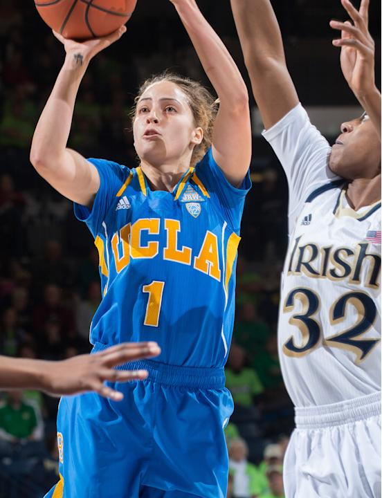 NCAA Womens Basketball: UCLA at Notre Dame
