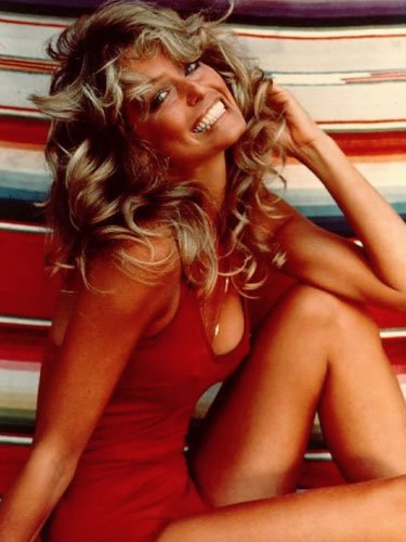 Farrah Fawcett in Charlie's Angels - 1976
