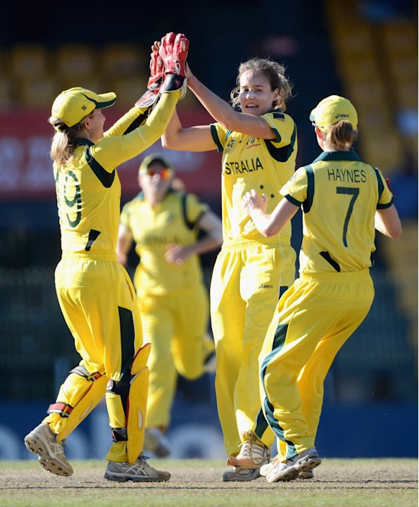 West Indies v Australia - ICC Women's World Twenty20 2012 Semi Final