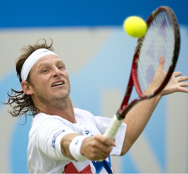 Argentina's David Nalbandian Returns AFP/Getty Images