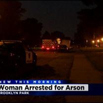 Police: Woman Arrested For Arson After Alleged Stabbing