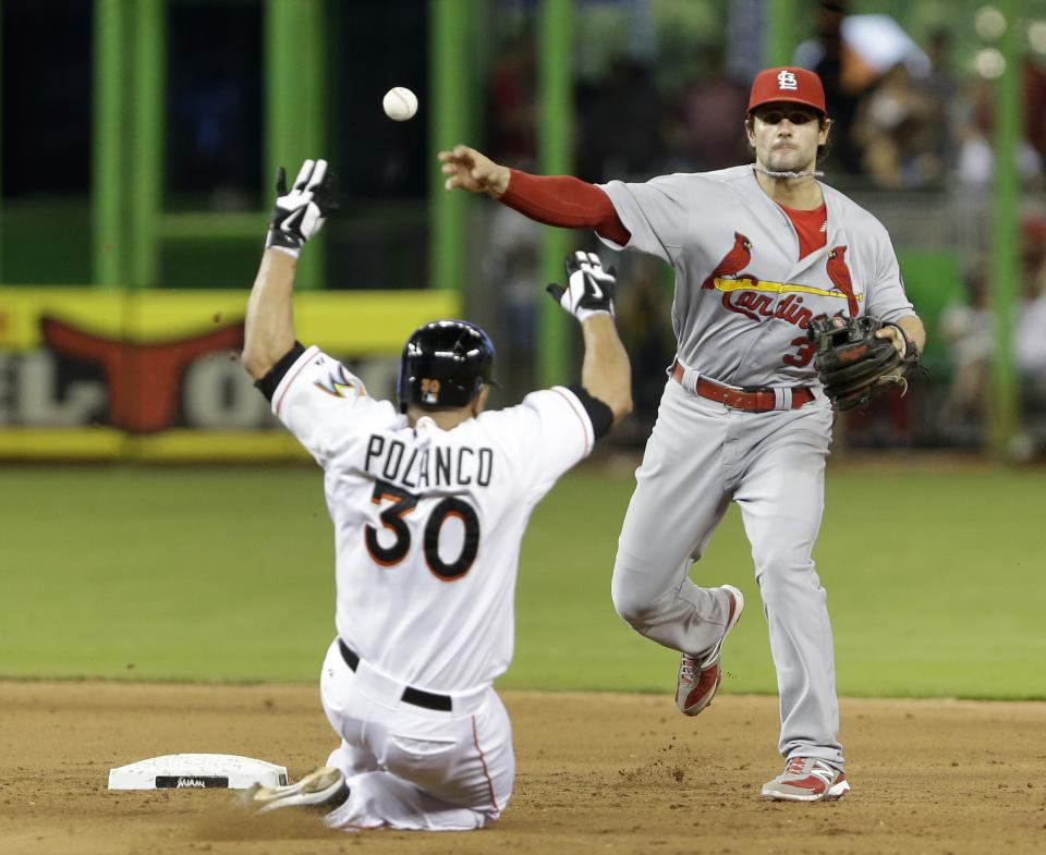 Beltran homers twice as Cards beat Marlins 13-7