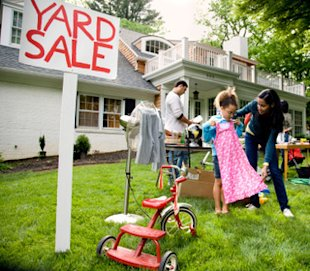 yard sale