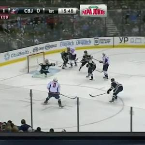 Sergei Bobrovsky Save on Alex Ovechkin (04:17/1st)