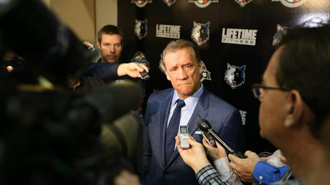 Flip Saunders to coach Timberwolves