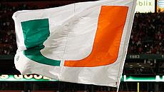 University of Miami flag