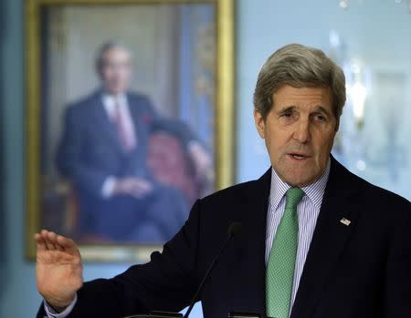 U.S. deserves 'benefit of the doubt' on getting Iran nuclear deal, Kerry says