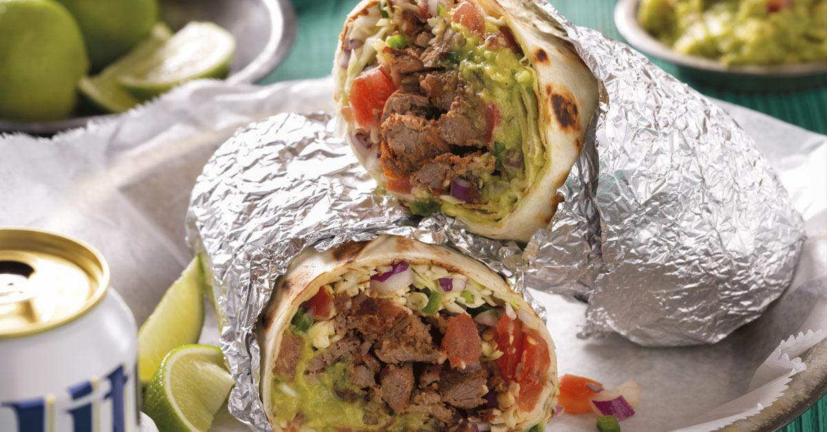 The Best Grilled Carne Asada Burrito Recipe