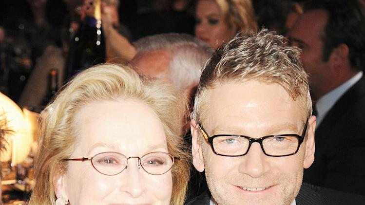 Critics Choice Awards 2012 Party pics Meryl Streep Kenneth Branagh