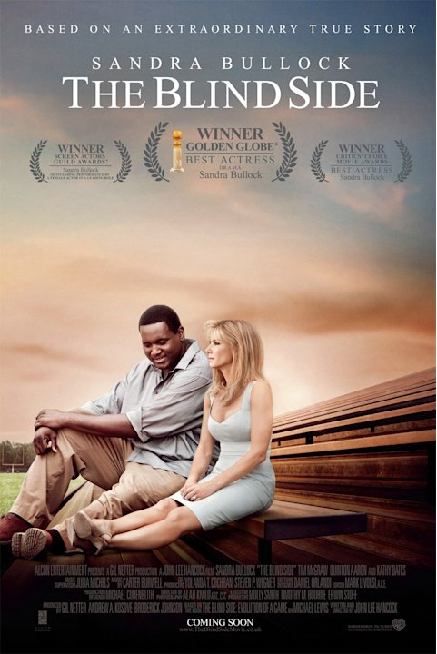 The Blind Side Poster Production Stills Warner Bros. 2010
