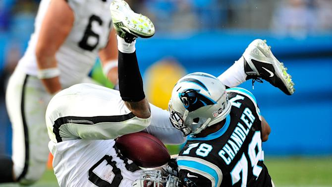 Oakland Raiders v Carolina Panthers