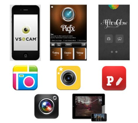 ICamera: 8 Apps that Help You Take Photos like a Professional