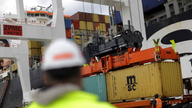 US worker productivity rises just 0.7 pct. in Q1