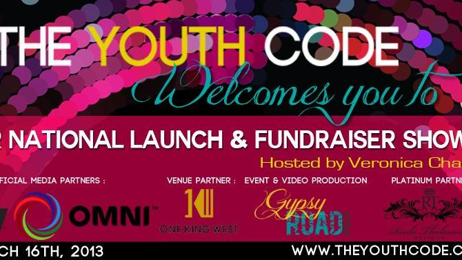 Actor & Filmmaker Kalista Zackhariyas Announces National Launch of The Youth Code and Inaugural Fundraiser Show hosted by Veronica Chail