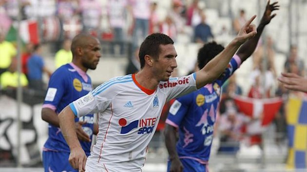 Ligue 1 2012/2013 OM Evian Amalfitano