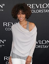 Halle Berry seen looking lovely at the Revlon ColorStay Whipped Creme Makeup launch at the Gramercy Park Hotel in New York City on May 22, 2012