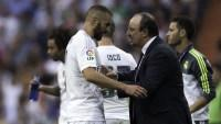 Benzema and Benitez in a war of words at Real Madrid
