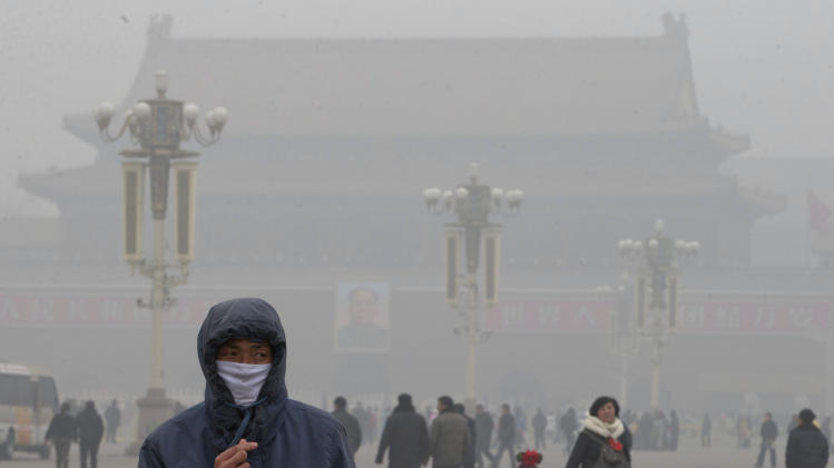chinas pollution Sixteen of the world's 20 most polluted cities are in china the air in some cities  there is so bad that, at times, visibility drops to 30 feet, traffic.