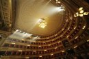 Handout of overview of La Scala opera house is seen in this undated photo released by La Scala press office in Milan