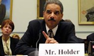 US Attorney General Holder Held In Contempt