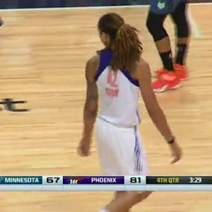 Griner Rejects McCarville With Authority