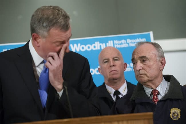 NYPD ambush attack: Why police accuse mayor of having 'blood' on his hands