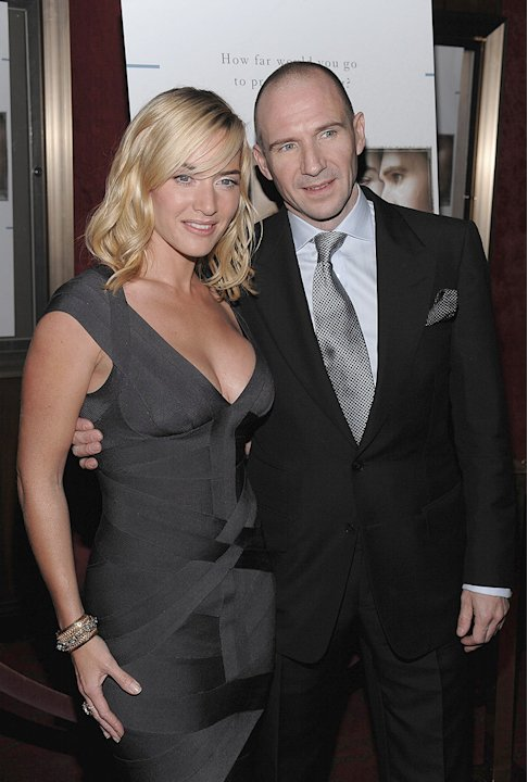 The Reader NY Premiere 2008 Kate Winslet Ralph Fiennes
