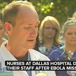 Nurses At Texas Hospital That Handled Ebola Defend Themselves