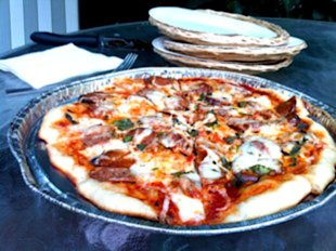 Sarah Lipoff&amp;#39;s Easy Grilled Pizza
