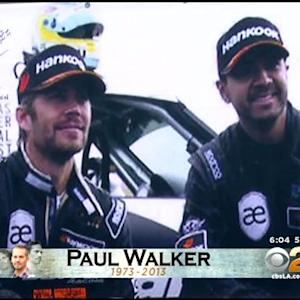 Thousands Of Fans Stream In To Paul Walker Memorial