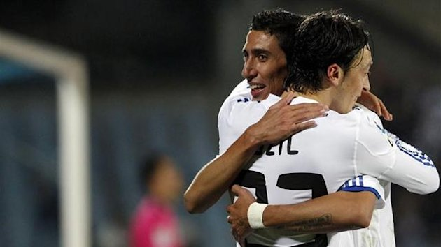 angel di maria, mesut özil, real madrid