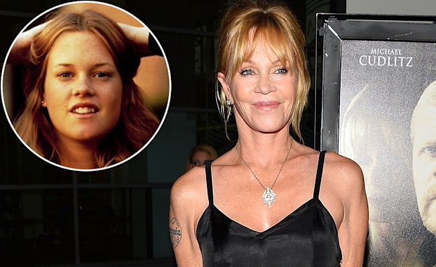 Melanie Griffith, then and now