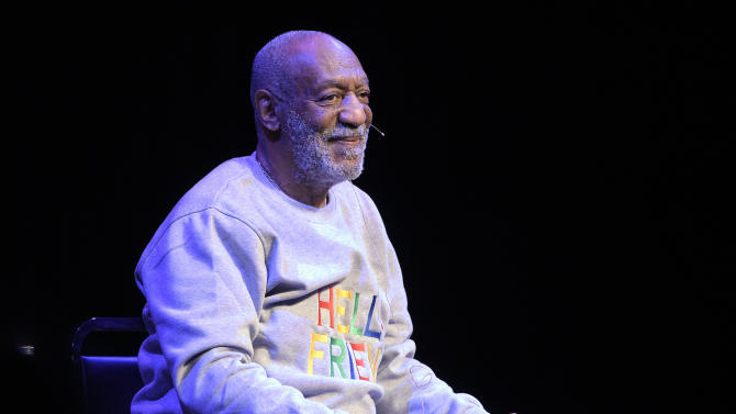 FILE - In this Nov. 21, 2014 file photo, entertainer Bill Cosby performs at the Maxwell C. King Center for the Performing Arts in Melbourne, Fla.  Cosby has has remained silent, and that may be his best strategy. With police urging any possible sex abuse victims to come forward, two lawsuits pending and more than 15 women making accusations stretching back years, Cosby has little to gain by speaking publicly.   (AP Photo/Phelan M. Ebenhack, File)