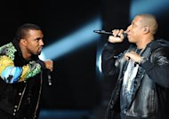 Kanye West et Jay-Z : les stars du rap enflamment Bercy devant un parterre de people