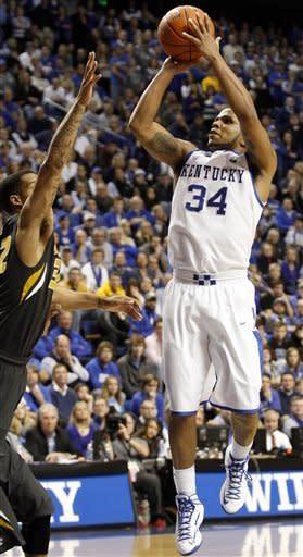 Kentucky beats Missouri 90-83 in overtime