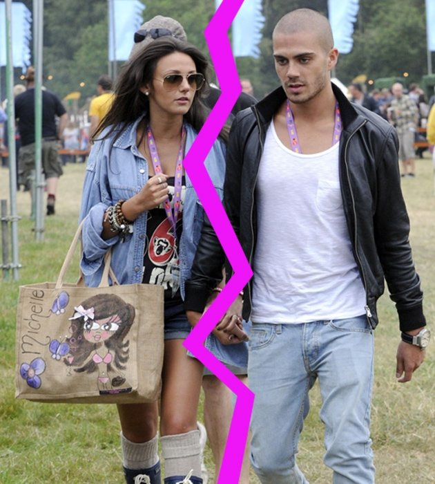 Max George, Michelle Keegan, break-up