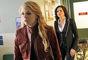 Jennifer Morrisson, Lana Parrilla | Photo Credits: David Gray/ABC