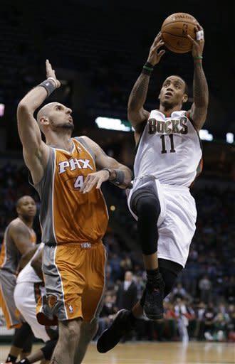 Bucks beat Suns 108-99 in Boylan's first game
