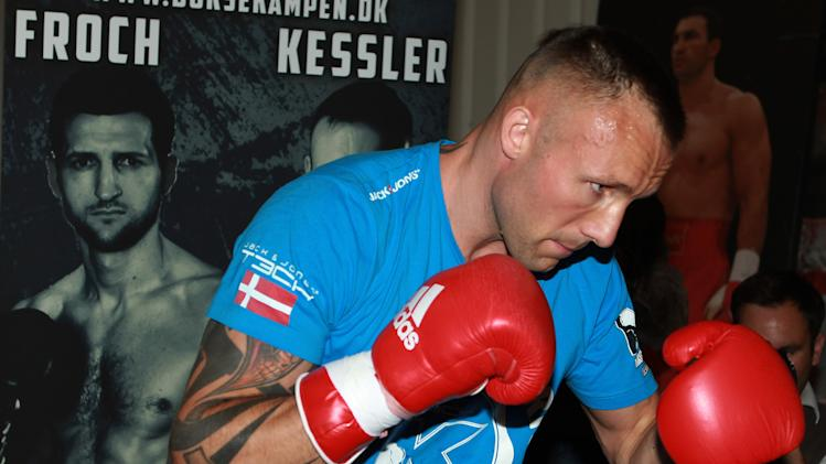 Boxing - IBF Super Middleweight Championship - Carl Froch v Mikkel Kessler - Mikkel Kessler Work Out - Hayemaker Gym
