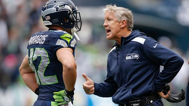 2013-14 NFL, Seattle Seahawks, Pete Carroll (AFP)