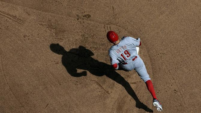 Votto and Choo homer, Reds beat Brewers 7-3